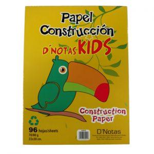 BLOCK PAPEL CONSTRUCCION KIDS 48 HOJAS