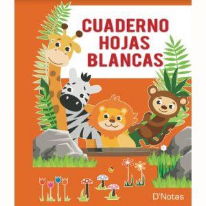 CUADERNO D NOTAS HOJAS BLANCAS 40 HOJAS
