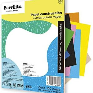 CART P/ARTES MANUALES BARRILITO CARTA 10COLOR 100H