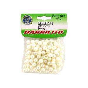 PERLAS PLASTICAS BARRILITO MODELO-PP400