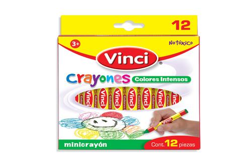 CRAYON VINCI MINICRAYON 12 UNIDADES 2012