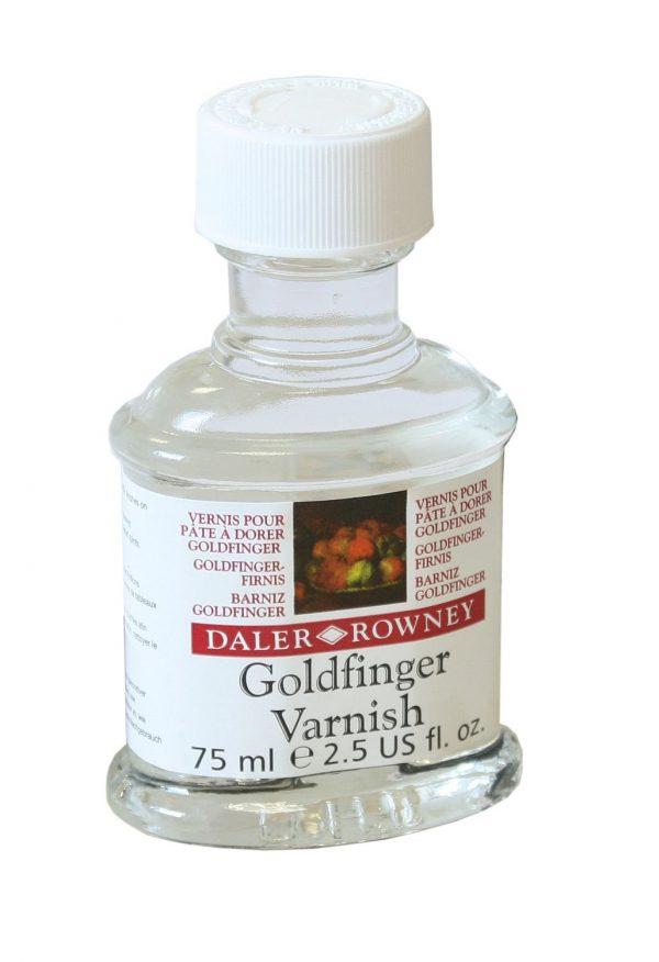 GOLDFINGER VARNISH DALER & ROWNEY 75 ML