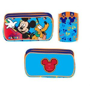 CARTUCHERA MICKEY MULTICOLOR 073-N19-03757