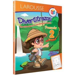 LIBRO LAROUSSE DIVERTITRAZOS 2