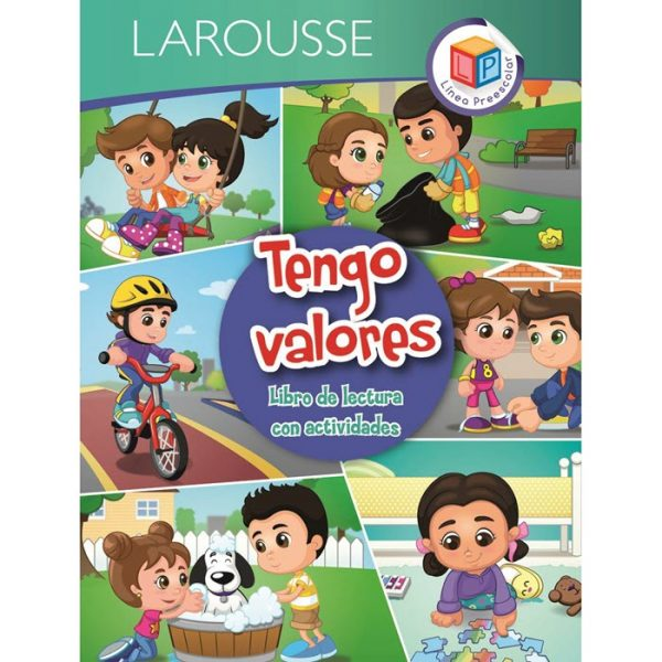 LIBRO LAROUSSE TENGO VALORES
