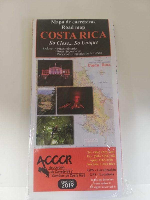 MAPA DE CARRETERAS DE COSTA RICA (ACCCR)