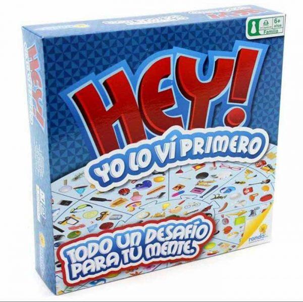 JUEGO DE MESA HEY LO VI PRIMERO RN10581