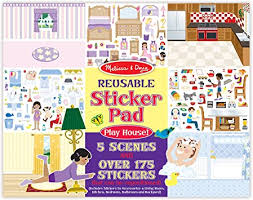 BLOCK STICKERS MELISSAYDOUG REUSABLE CASA 3A+