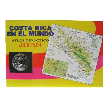 LIBRO JITAN ATLAS DIDACTICO DE COSTA RICA