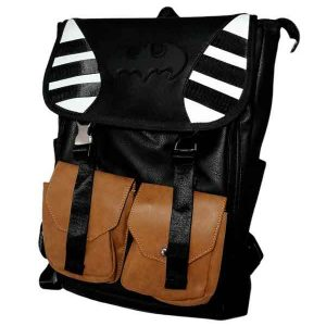 BOLSO BATMAN NEGRO CON CAFE