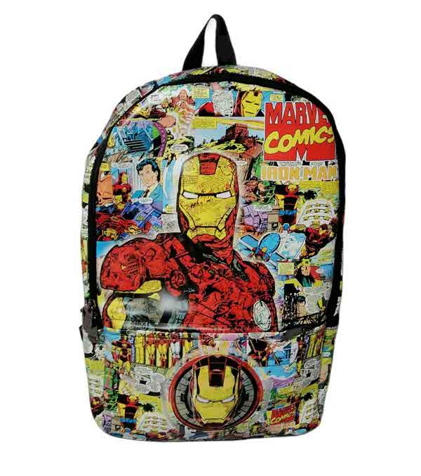 BOLSO IRON MAN MARVEL COMICS ESTAMPADO