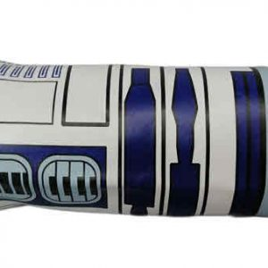 CARTUCHERA REDONDA STAR WARS R2D2