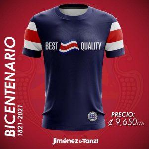 CAMISETA BICENTENARIO HOMBRE BEST QUALITY BANDERA
