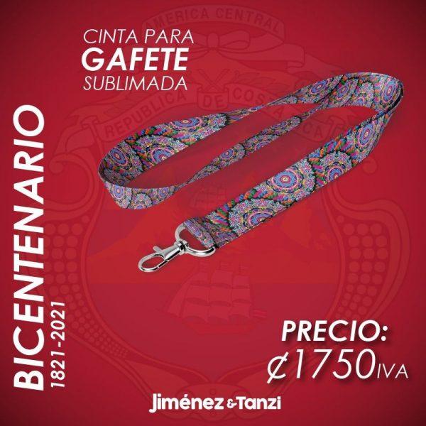 CINTA PARA GAFETE BICENTENARIO RUEDA DE CARRETERA
