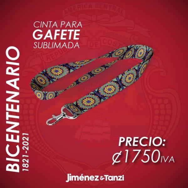 CINTA PARA GAFETE BICENTENARIO RUEDA MANDALA